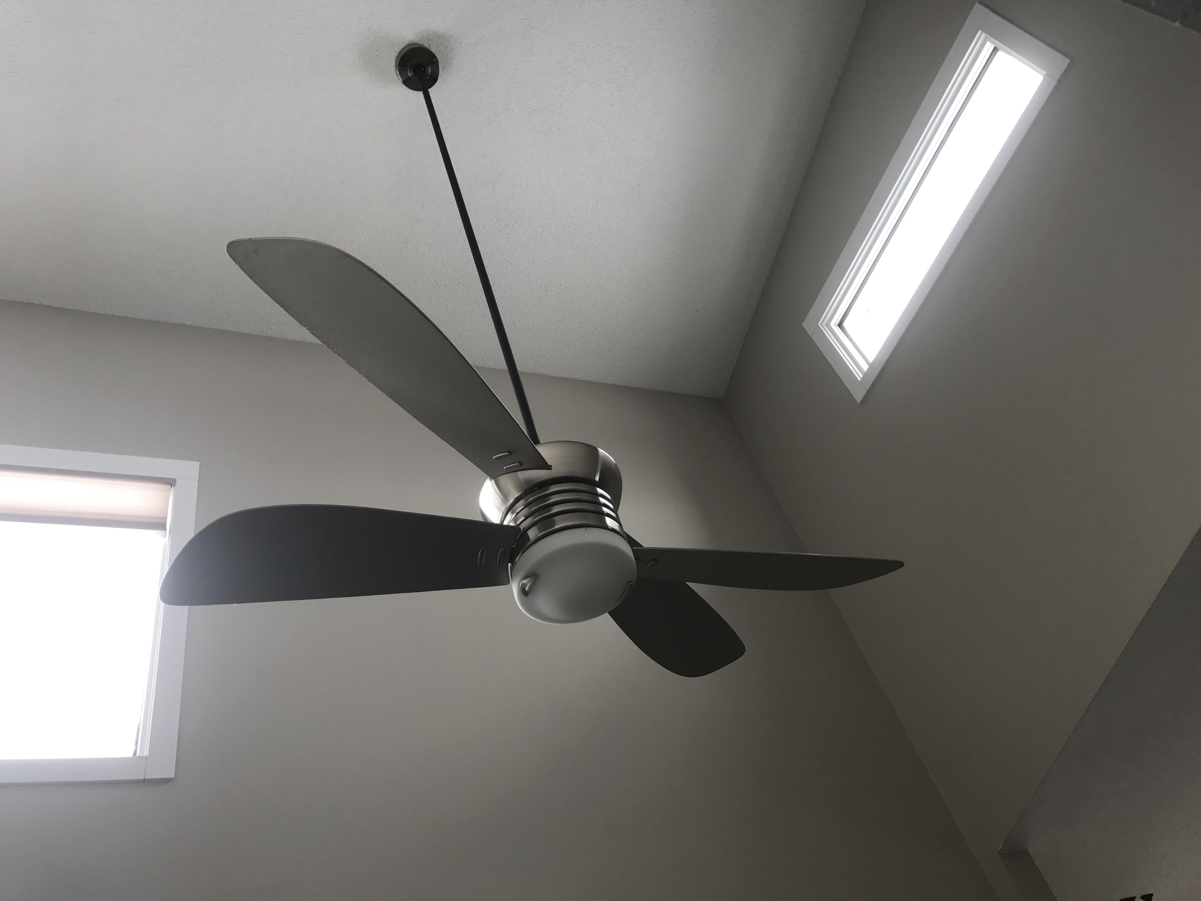 Sonshine Clean High Ceiling Fan